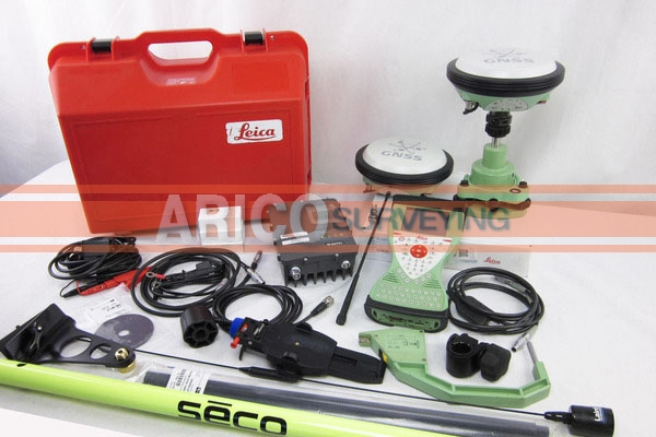 Leica VIVA GS14 GNSS RTK Base and Rover - Arico Surveying